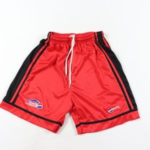 90s Pepsi Mens Medium Spell Out Athletic Shorts